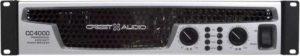 Фирменный усилитель мощности Crest Audio CC4000-1