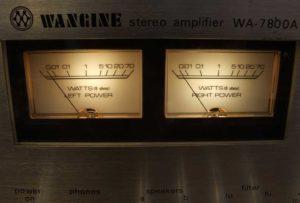 Двойное моно Wangine WA7800А