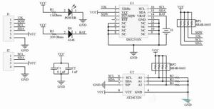 DS3231 arduino подключение-4