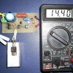 Упрощенное зарядное устройство LM317-1