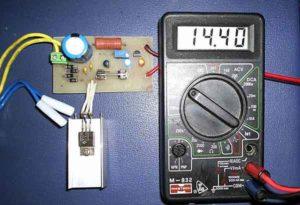 Упрощенное зарядное устройство LM317-2