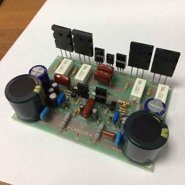 Схемы УМЗЧ на транзисторах