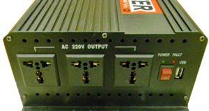 Автомобильный инвертор 3000w-3