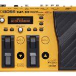 Цифровой гитарный процессор BOSS GP-10S-3
