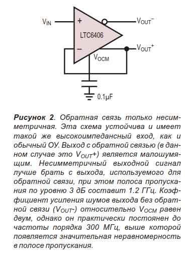Дифференциальный операционный усилитель-2