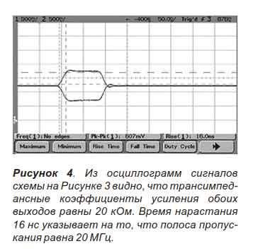 Дифференциальный операционный усилитель-4