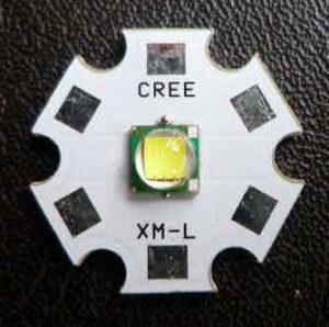 Фонарь аккумуляторный светодиодный мощный-5