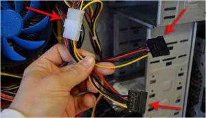 Как подключить жесткий диск к компьютеру-12