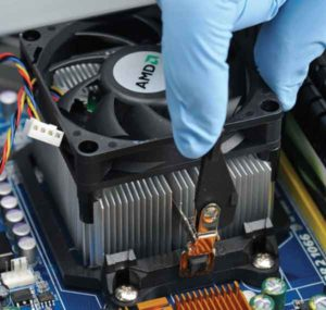 Как снять кулер с процессора-5