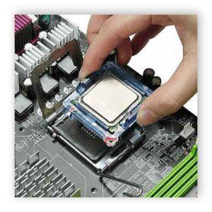 Как установить процессор на материнскую плату-5