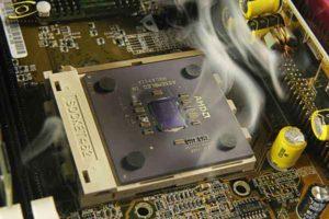 Какая нормальная температура процессора-1