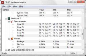 Какая нормальная температура процессора-2