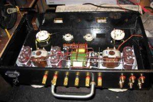 Схема лампового усилителя на ГУ-50-7