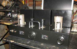 Схема лампового усилителя на ГУ-50-9
