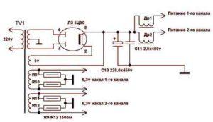 Ламповый усилитель мощности звука-10
