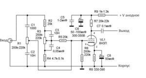 Ламповый усилитель мощности звука-8