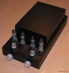 Схема двухтактного лампового усилителя мощности на 6П14П