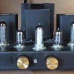 Ламповый усилитель на 6п14п схема