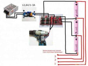 Переделка шуруповерта на литиевые аккумуляторы-5