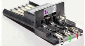 Распиновка микро usb разъема для зарядки-3
