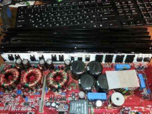 Ремонт автоусилителя звука-12