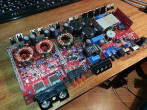 Ремонт автоусилителя звука-15