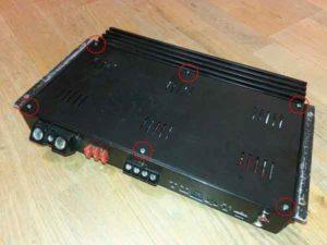 Ремонт автоусилителя звука-2