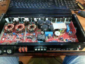 Ремонт автоусилителя звука-4