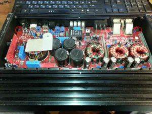 Ремонт автоусилителя звука-7