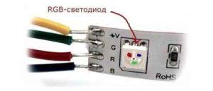RGB лента с контроллером и пультом-4