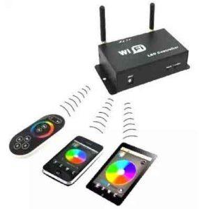RGB лента с контроллером и пультом-9