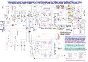Схема лампового усилителя звука-22
