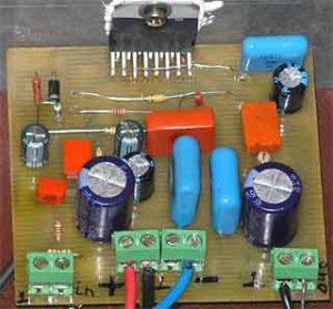 Схема усилителя звука на микросхеме-6