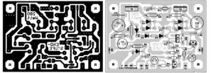 Схема простого усилителя звука на транзисторах-5