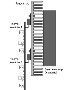 Схема простого усилителя звука на транзисторах-6