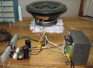 Схема простого усилителя звука на транзисторах-8