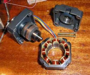 Схема управления шаговым двигателем-4