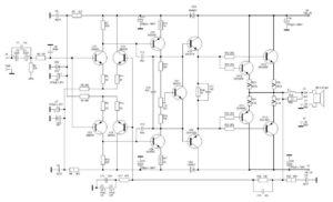 Схема усилителя Ланзар-1