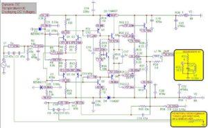 Схема усилителя Ланзар-4