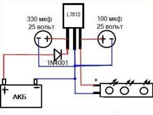 Стабилизатор напряжения 12 вольт для светодиодов-3-1