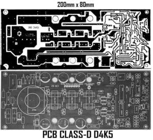 Схема усилителя класса D-3
