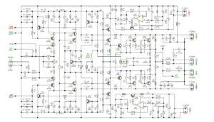 Схема усилителя звука-2
