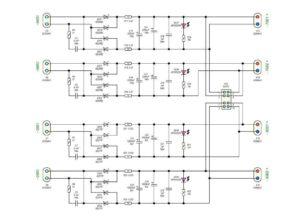 Схема усилителя звука-6