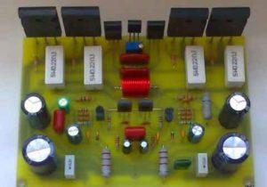 Транзисторный усилитель с общим эмиттером-0