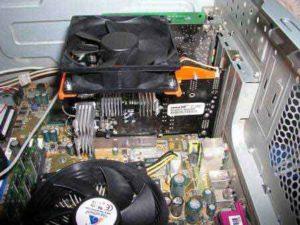 Управление кулером процессора-N