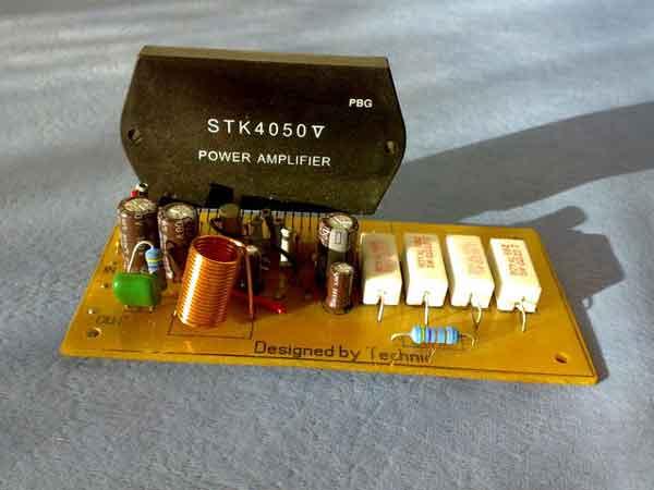 Stereo amplifier своими руками