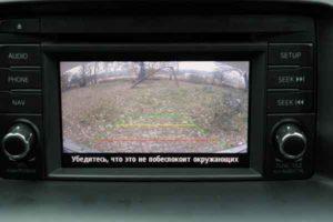 Установка камеры заднего вида на автомобиль-13