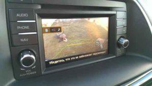 Установка камеры заднего вида на автомобиль-r1