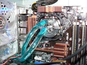 Водяное охлаждение для процессора-2