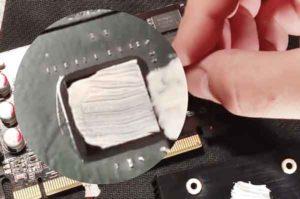 Замена термопасты на видеокарте-7